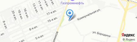 СибНефтеПром на карте Омска