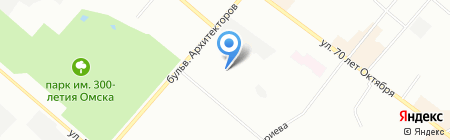 Детский сад №65 на карте Омска