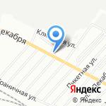 Кафе быстрого питания на карте Омска