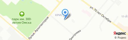 Архитектурная студия Владимира Романова на карте Омска