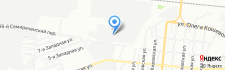 СИБ КОР на карте Омска