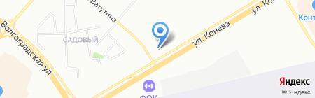 Советский 27 на карте Омска