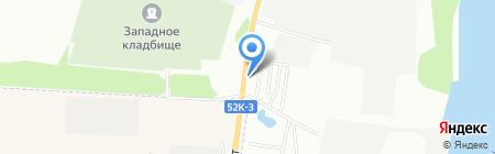 Магазин автотоваров на карте Омска