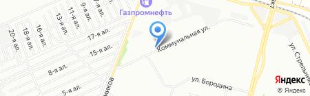 Иртыш на карте Омска