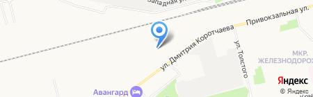 Эконом на карте Сургута