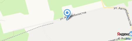 ФАСТранс на карте Сургута