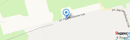 Запсибтеплоресурс на карте Сургута
