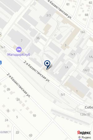 ПРОИЗВОДСТВЕННАЯ ФИРМА ДС-ЛОДЖИСТИК на карте Омска