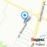 Почтовое отделение №45 на карте Омска