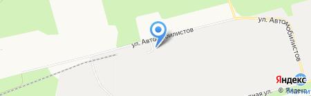 Зевс на карте Сургута