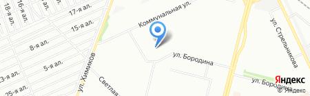 Троечка на карте Омска