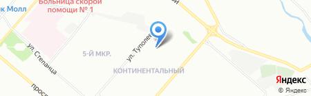 Все для ремонта на карте Омска