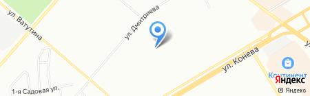 Мой Малыш на карте Омска