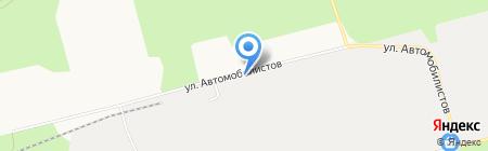 УралТехноИмпэкс на карте Сургута