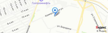 Омич сервис на карте Омска