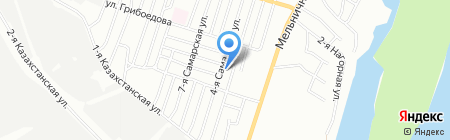 Детский сад №112 на карте Омска