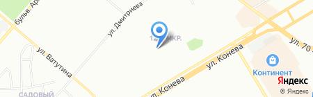 Дизайн-ателье Ирины Мельник на карте Омска