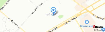 Мелодия здоровья на карте Омска