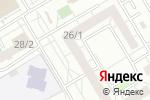 Схема проезда до компании Марьин остров в Омске