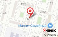 Схема проезда до компании Издательский Центр  в Омске