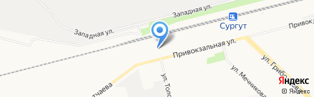 CarOn на карте Сургута