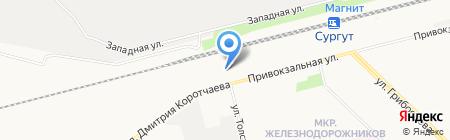 Автомастер на карте Сургута