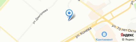 Гроспирон на карте Омска