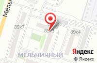Схема проезда до компании Стольник-Информ в Омске