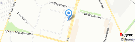 Банкомат МДМ Банк на карте Омска