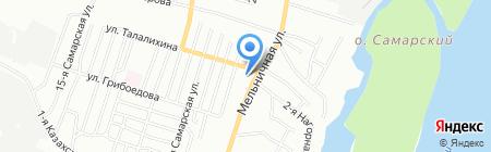 Кировец-1 на карте Омска
