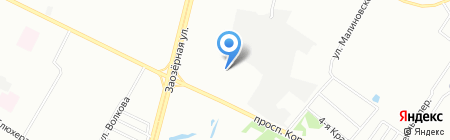 Банкомат Банк Москвы на карте Омска