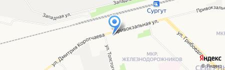 Мишель на карте Сургута