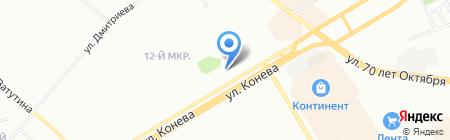 Путеводная звезда на карте Омска