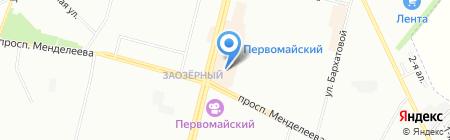 Priz на карте Омска