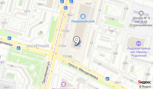 Tescoma. Схема проезда в Омске