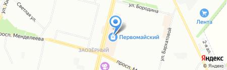 Classic style на карте Омска