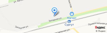Агрегат на карте Сургута