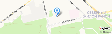 ДЕЗ ЦЖР на карте Сургута