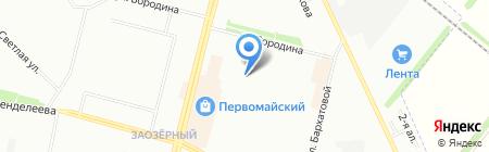 Специализированный дом ребенка на карте Омска