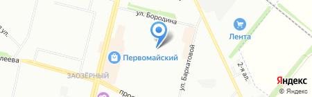 Маргарита на карте Омска