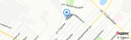 Средняя общеобразовательная школа №105 на карте Омска