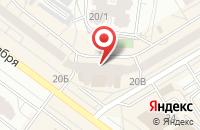 Схема проезда до компании Ярмарка недвижимости в Омске