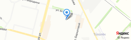 Участковый пункт полиции на карте Омска