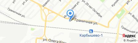 Молис на карте Омска