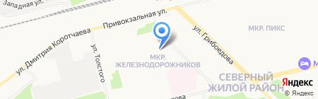 Детский сад №22 на карте Сургута