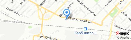 БытСервис на карте Омска