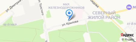 Федеральный центр гигиены и эпидемиологии по железнодорожному транспорту на карте Сургута