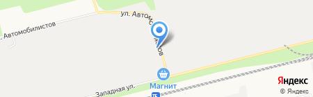 Готовые Газоны на карте Сургута