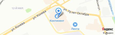 Ателье на карте Омска