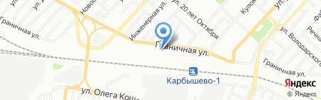 Резон на карте Омска